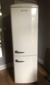 gorenje fridge freezer Retro