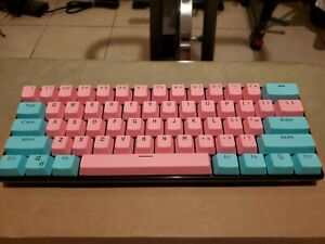 Royal Kludge RK61 Keyboard Blue Switches PBT Keycaps