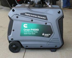 NEW Cummins Onan P4500 4500W Digital Inverter Portable Gas Generator A058U955