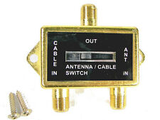 Coaxial A/B Switch 100db. 5 To 900 Mhz Antenna/Cable Video Accessories Cm-83599