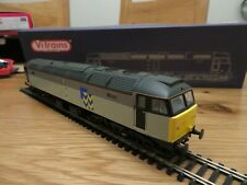 vitrains v2105 diesel class 47 no 47347 two tone grey dcc ready