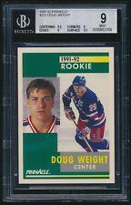 1991-92 Pinnacle rookie #310 Doug Weight rc BGS 9 Mint