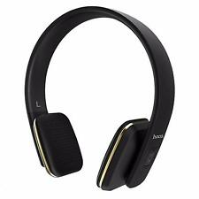 Wireless Kopfhörer Bluetooth Head Set Handy PC Headphones Mikrofon in SCHWARZ