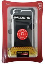 "Ballistic Tough Jacket Maxx Case Holster for Apple iPhone 6S 6 4.7"" Black White"