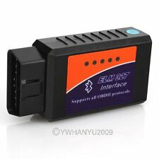 Vehicle ELM 327 Wireless Scan Tools Bluetooth Obdii Obd2 Diagnostic Scanner