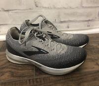 Brooks Womens Levitate 2 1202791B178 Gray Running Shoes Lace Up Size 9.5 B