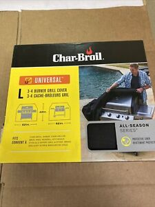 Char-Broil Universal 3-4 Burner Grill Cover Large Size