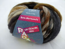 500g RAGAZZA Lei Color Mix Lana Grossa Farbe 156