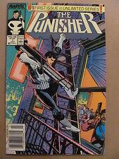 Punisher #1 Marvel Comics 1987 Series Newsstand Edition 9.2 Near Mint-