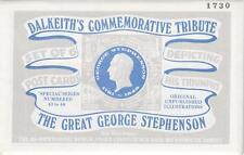 GEORGE STEPHENSON DALKEITH'S SET OF SIX POSTCARDS