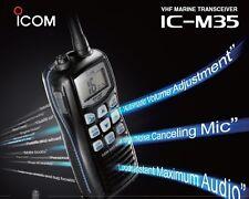 ICOM IC-M35 Walkie TRANSCEPTOR BANDA MARINA
