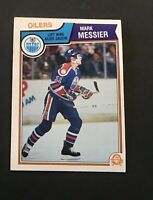 Mark Messier 1983-84 #39 O-Pee-Chee Hockey Card Edmonton Oilers OPC