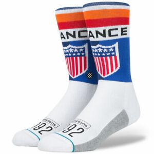 "Stance ""Decathlon"" Classic Crew Socks (Navy) Men's Track Sportswear Sock"
