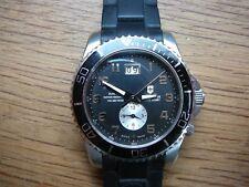 VICTORINOX Swiss Army Men's Maverick GS Dual Time Black Double Date Dial Watch