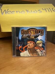 Street Fighter III 3rd Strike REPRODUCTION CASE No Disc Dreamcast