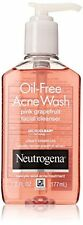 Neutrogena Oil-Free Acne Wash Face Cleanser, Pink Grapefruit 6 oz Each