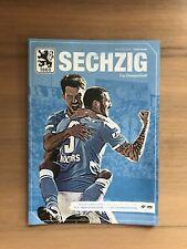 Programm Relegation 3. Liga TSV 1860 München - 1. FC Saarbrücken mit Poster