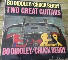 Chuck Berry & Bo Diddley, Two Great Guitars vinyl LP, Pye International 1964