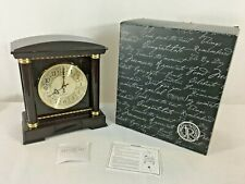 Things Remembered Danbury Westminster Chime Battery Powered Mantle Clock NEW