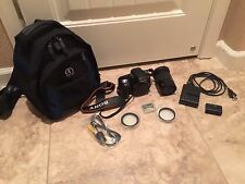 ***Sony Alpha DSLR-A300 10.2MP Digital SLR Camera W/ LENS 18-70mm, BAG & FILTERS