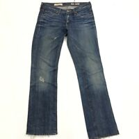 AG Adriano Goldschmied The KISS Womens Denim AG-ED Distressed Jeans 26 x 29