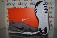 Nike Free TR Flykit 2 Womens Training Shoes 904654 200 Taupe Gray/Black Chrome