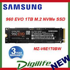 Samsung 960 EVO 1TB M.2 2280 NVMe SSD MZ-V6E1T0BW