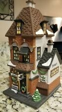 Heritage Village Dept 56 Christmas in the City Series *Potter's Tea Seller*