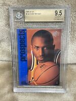 KOBE BRYANT⚡️1996-97 Upper Deck SP Rookie #134 BGS 9.5 Gem Mint RC🔥Lakers HOT