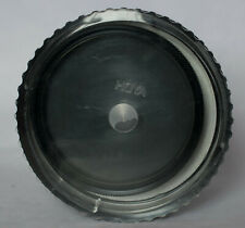 Hoya 62mm circular polarising filter in old style twist lock case.