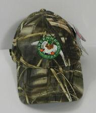 Nwt Greenhead Gear Ghg 12oz Canvas Cap Max-4 Adjustable Strapback Hat Camo Grass