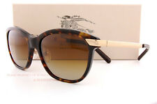 Brand New Burberry Sunglasses BE 4169Q 3002/T5 Havana/Brown Polarized For Women