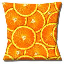 "Cushions Corner Orange Slices Fruit Photoprint Design 16""x16"" 40cm Cushion Cover"