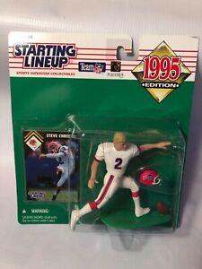 1995 Kenner Starting Lineup STEVE CHRISTIE Buffalo Bills Action Figure Toy
