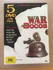 War Docos The RIVETING DOCUMENTARIES OVER 7 HOURS R4 in excellent condition