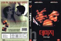 DAMAGE, Fatale (1992) - Louis Malle, Jeremy Irons, Juliette Binoche  DVD NEW
