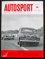 "THE AUTOSPORT MAGAZINE 13 JUN 1958 - THE FERRARI ""DINO 246"", FORD ZODIAC AUTO"