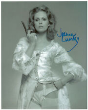 JOANNA LUMLEY Signed 10x8 Photo Absolutely Fabulous The New Avengers Bond 007