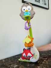 Fisher Price 3 In 1 Moblie Woodland Owl Fox Racoon Bear