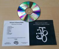 SCHOOL OF SEVEN BELLS Disconnect From Desire UK numbered 10-track promo test CD