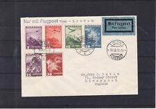 Flugpost mit TOP Frankatur Wien nach England 1935