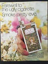 1971 Vintage Ad for Eve Cigarettes