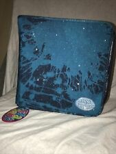 Vintage Lisa Frank 3 ring binder Nwt glitter galaxy look