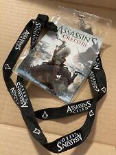 Assassins Creed 3 Landyard Rare Promotions Item Clip Promo Ubisoft