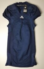 Adidas Men's Techfit Compression Football Jersey Climalite Climacool Blue XL