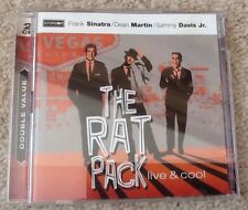 The Rat Pack live and cool double cd