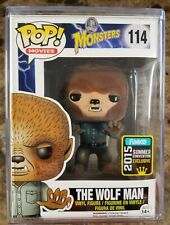 Funko Pop! The Wolf Man #114 Flocked  SDCC 2015