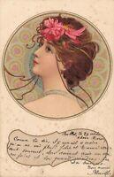 Art Nouveau Lady KOSA 04.78