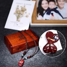 The Illusionist Locket Magic Heart 990 Silver &Sandalwood Pendant Necklace chain