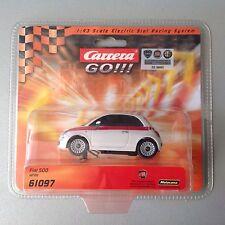 Carrera Go!!! Fiat 500  61097  1:43 Official Licensed Moc Nuova